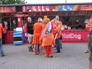 Echte nederlandse fans