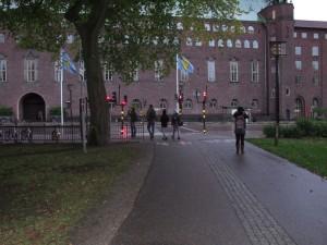 Op weg in Stockholm