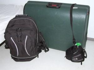 Koffer staat klaar