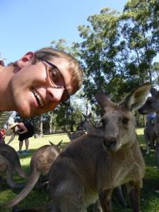 Kangaroo en ik