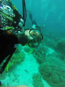 Ook onderwater ben ik weer terug te vinden in Australie.