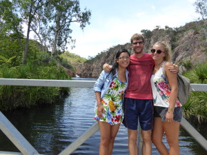 Samen met mijn reismaatjes Tracy en Doro