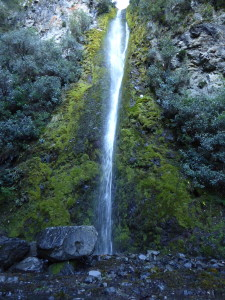Hanmer Springs waterfall