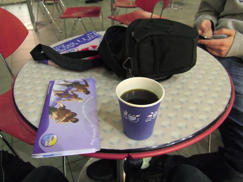Koffie op Vaasa airport