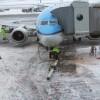KLM toestel naar Schiphol
